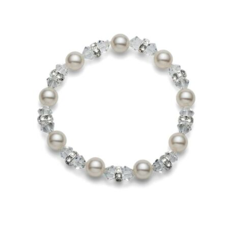 Karkötő White Pearl