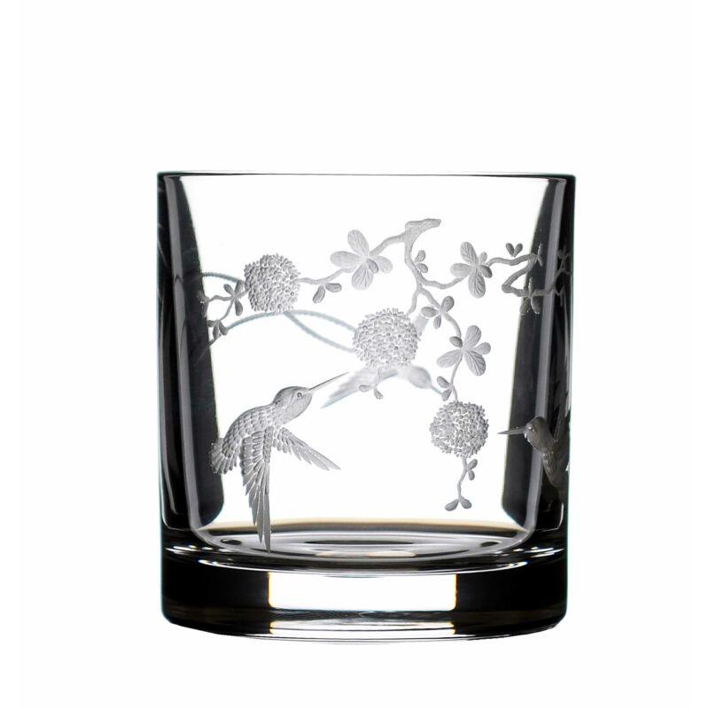 Kristály pohár - Kolibri
